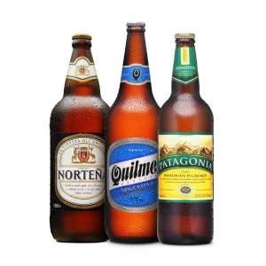 [Empório da Cerveja] KIT SULAMERICANO - NORTEÑA, QUILMES E PATAGONIA por R$ 27