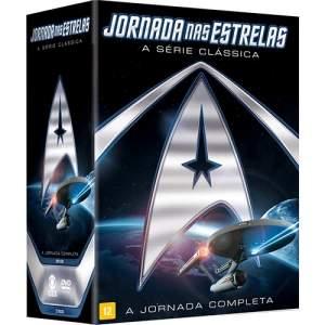 [Submarino] DVD - Coleção Jornada nas Estrelas - A Série Clássica Completa (23 Discos)  por R$ 70