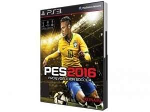 [Magazine Luiza] PES 2016 - Pro Evolution Soccer para PS3 - Konami por R$ 132