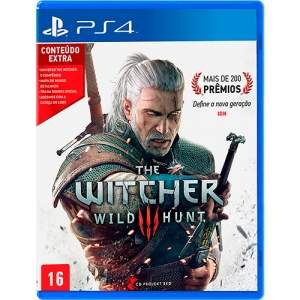 [Americanas] The Witcher 3: Wild Hunt - PS4 por R$173