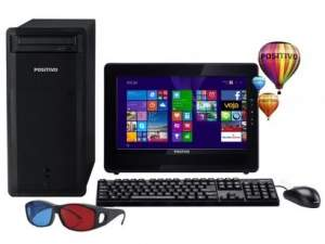 [Magazine Luiza] Computador/PC Positivo Premium PCTV DR3000 - Intel Dual Core 2GB 320GB Windows 8.1 LED 15,6 R$ 989
