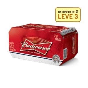 [Empório da Cerveja] KIT BUDWEISER 269ML - NA COMPRA DE 2, LEVE 3 CAIXAS por R$ 40