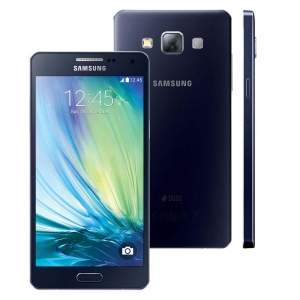 """[E-Fácil] Galaxy A5 por R$825 - Dual Chip Preto Tela 5"""", 4G+WiFi, Android 4.4, Câmera 13MP, Memória 16GB"""