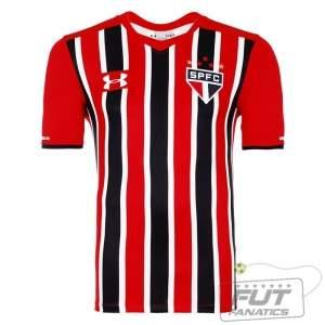[Fut Fanatics] Camisa Under Armour São Paulo II 2015 por R$ 81
