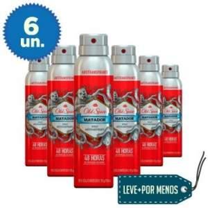 [Ricardo Eletro] Leve Mais Pague Menos: 6 Desodorantes Antitranspirantes Old Spice por R$ 35