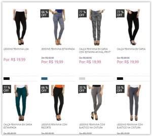 [Marisa] Moda feminina, calças a partir de R$ 20