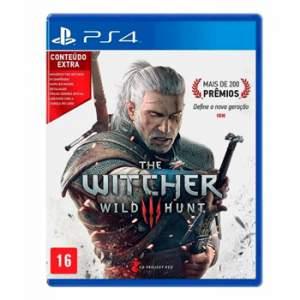 [Game7] The Witcher 3 Wild Hunt - Edição de Lancamento Playstation 4 por R$ 95