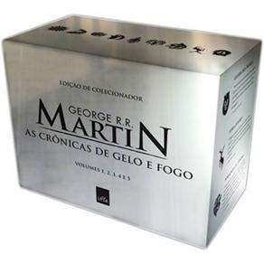 [Casas Bahia] Box As Crônicas de Gelo e Fogo por R$39,90