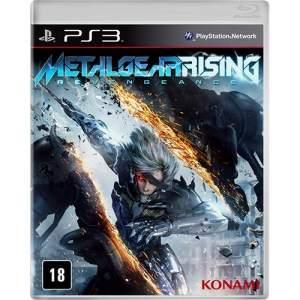 [Submarino] Metal Gear Rising PS3 - R$9,90