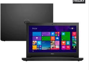 "[Submarino] Notebook Dell Inspiron I14-3443-B40T Intel Core i5 8GB (2GB de Memória Dedicada) 1TB LED 14"" Touchscreen Windows 8.1"