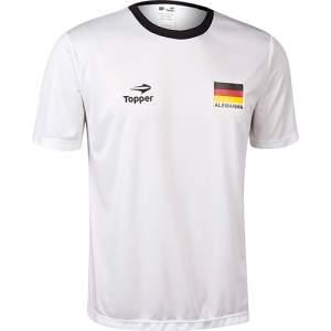 [Americanas] Camisa Topper Torcida Alemanha Masculino P / M / G / GG  por R$ 15