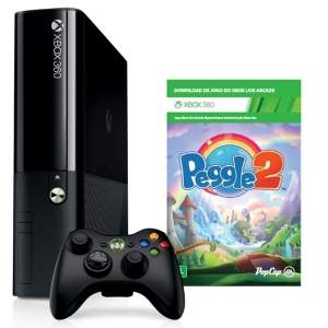 [Ponto Frio] Xbox 360 4gb + jogo Peggle 2 - 649 ou 616,55 1x no C/C