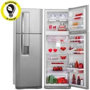 [RICARDO ELETRO]Refrigerador | Geladeira Electrolux Frost Free 2 Portas 380 Litros Inox - DW42X - R$ 1.699,00