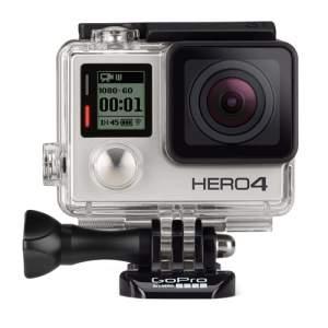 [Beta] Câmera Filmadora GoPro Hero 4 Silver Adventure LCD R$ 1.671