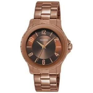 [Walmart] Relógio Feminino Technos Caixa e Pulseira de Aço Resistente à Água 50m - R$90