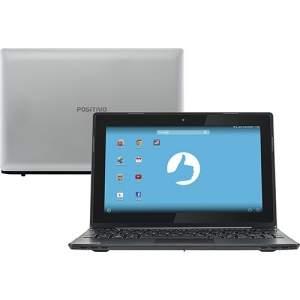 "[Americanas] Notebook Positivo SX1000 Android Dual Core 2GB 16GB Tela LED 10.1"" Touchscreen - Prata/Preto por R$ 608"