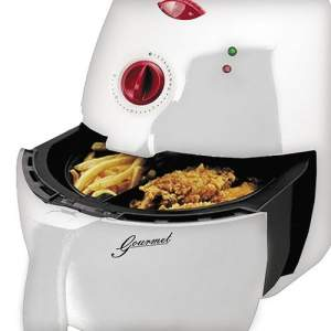 [Sou Barato] Fritadeira Elétrica Eterny ET18016A 2,2L Branco e Vermelho - 110 volts por R$ 179