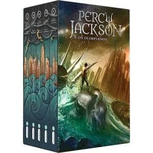 [Submarino] Box Percy Jackson e os Olimpianos - Livro (5 VOL) - R$50