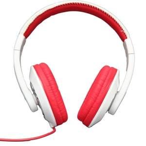 [AMERICANAS]Fone de Ouvido Smarts Supra Auricular Branco/Vermelho - R$28