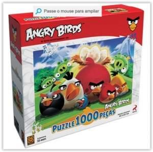 [Submarino] Puzzle 1000 Peças Angry Birds - Grow por R$ 20