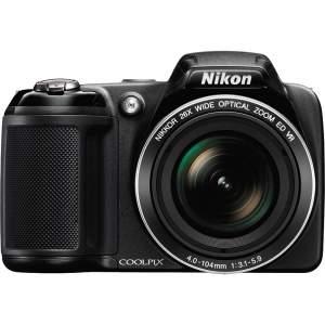 "[Casa&Video] Câmera Digital 20.2MP Nikon L330 com Zoom Óptico 26x, LCD de 3""  por R$ 400"