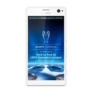 [Sony Store] Xperia C4 Selfie Dual - Branco por R$ 540