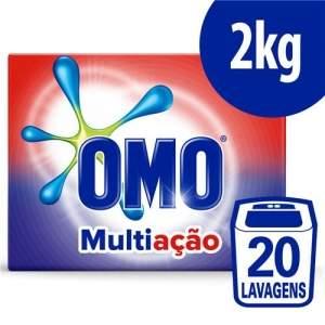 [Extra] Detergente em Pó OMO Multiação Poder Acelerador - 2kg R$ 15