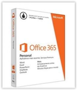 [PONTO FRIO] Microsoft Office 365 Personal QQ2 00108- por R$69