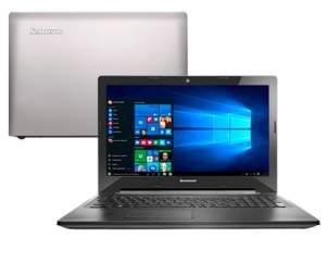 "[Americanas] Notebook Lenovo G40-80 Intel Core i7 8GB 1TB Tela LED 14"" Windows 10 - Prata"