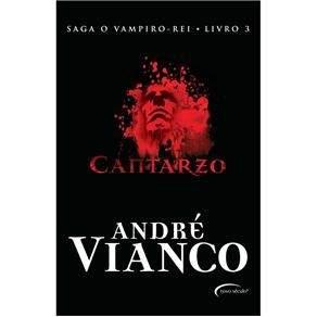 [Pontofrio] Livro - O Vampiro - Rei - Cantarzo - Volume 3 - André Vianco R$9,00