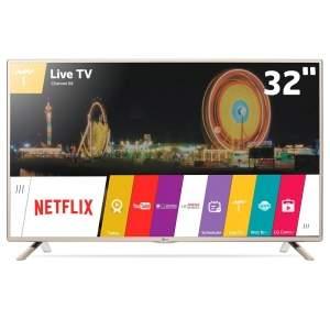 """[Ponto Frio] Smart TV LED 32"""" HD LG 32LF595B com Sistema webOS, Wi-Fi, Entradas HDMI e USB por R$ 949,05"""