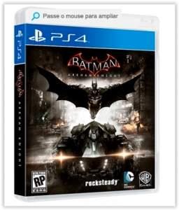 [Submarino] Game - Batman: Arkham Knight - PS4 por R$ 120