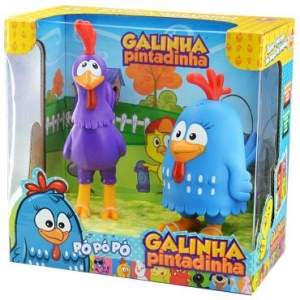 [Ricardo Elétrico] Brinquedo Galinha Pintadinha por R$33