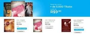 [Submarino] livros e best sellers R$10