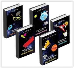 [Submarino] Kit Livros - Coleção O Guia do Mochileiro das Galáxias - Edição Econômica (5 Volumes) por R$ 21