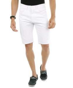 [C&A] Bermuda masculina branca, com bolsos - R$60