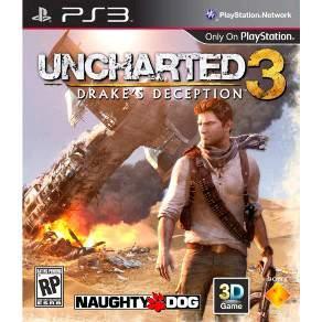 [UZGames] JOGO UNCHARTED 3: DRAKE'S DECEPTION - PS3 por R$ 35