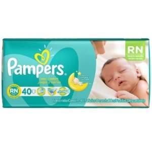 [Kangoolu] Fralda Pampers Total Confort Recém Nascido 40 unidades por R$ 22
