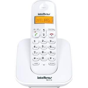 [Americanas] Telefone sem Fio Digital Intelbras TS3110 - R$72