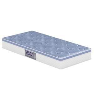 [CASAS BAHIA] Colchão Solteiro Gazin Mario com Pillow Top e Molas Bonnel 26x88x188 cm - Azul R$249,00