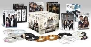 [SARAIVA] DVD Box Bones - 1ª A 7ª Temporada - 39 Discos - R$110