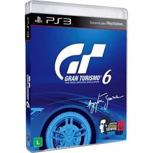 [Submarino] Jogo Gran Turismo 6 PlayStation 3 - R$20