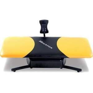[BUG-Sou Barato] Cama Vibratória c/ Computador HF630 Bivolt - Preto/Amarelo - Houston  por R$ 144