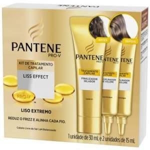 [Ricardo Eletro] Kit 3 Ampolas de Tratamento Pantene Liss Effect, 15ml - R$10