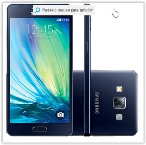 [Submarino] Smartphone Samsung Galaxy A5 Duos Dual Chip Preto 16 Gb por R$ 688
