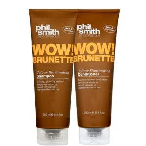 [Beleza na Web] Kit Shampoo e Condicionador Wow Brunette Phil Smith, 250ml - R$62