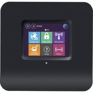 [Walmart] Roteador e Extensor Wireless Tela Touch 300 Mbps Almond Black - R$159