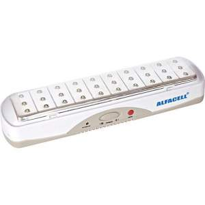[SOU BARATO] Luminária de Emergência Alfacell SE5206L Bivolt 30 Leds - R$ 15,00