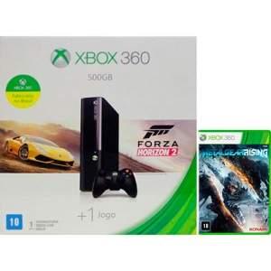 [AMERICANAS] Console Xbox 360 500GB + 2 Jogos + Controle Sem Fio R$ 800