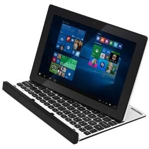 """[SHOPTIME] Notebook 2 em 1 Positivo Duo ZX3060 Intel Quad Core 2GB 32GB LED 10,1"""" Windows 10 - Branco - R$ 899,00 - com o Cupom MEGA10 sai por R$ 899,"""